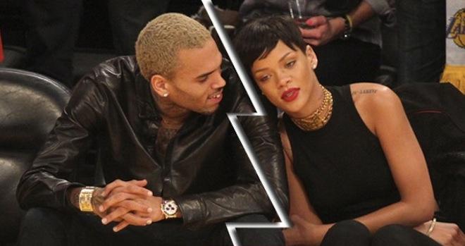 Rihanna and Chris Brown split