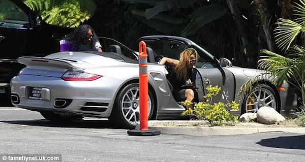 Rihanna and Melissa Porsche