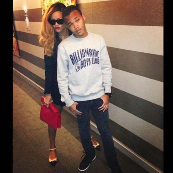 Rihanna and brother Rajad