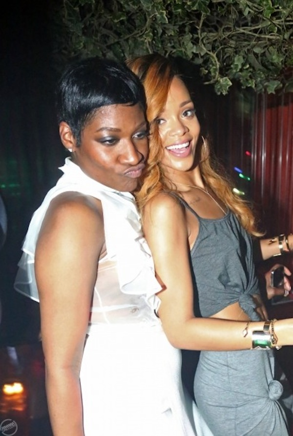 Rihanna and friends partying nyc