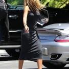 Rihanna blonde hair long dress