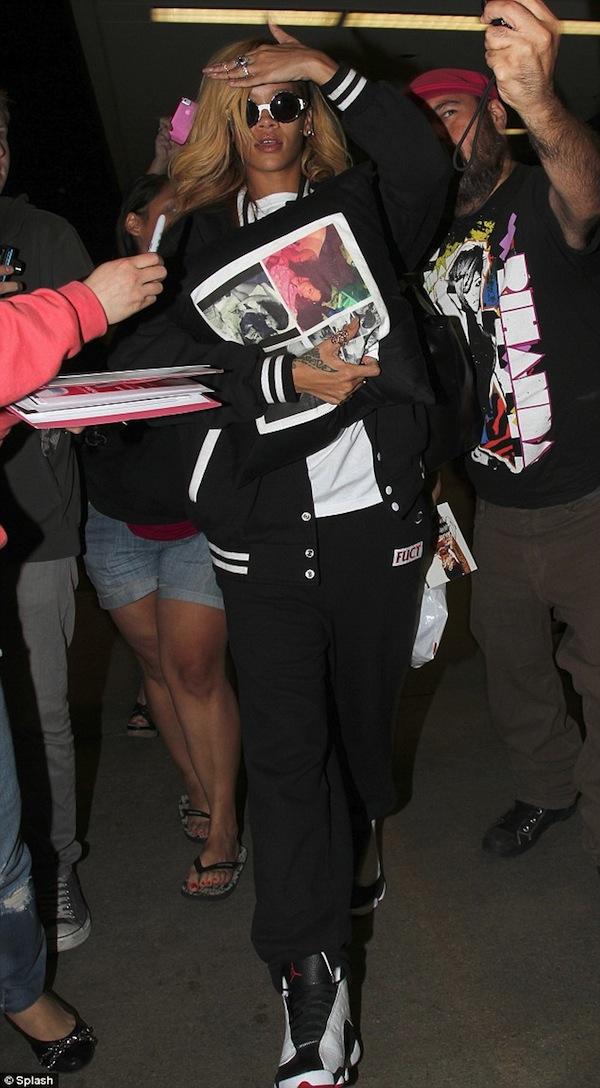 Rihanna lax 2013