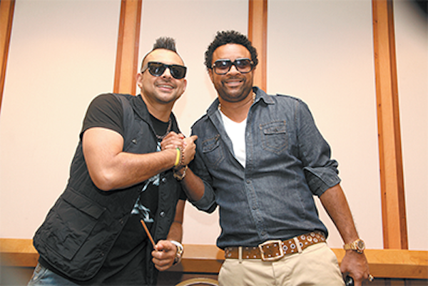 Sean Paul and Shaggy