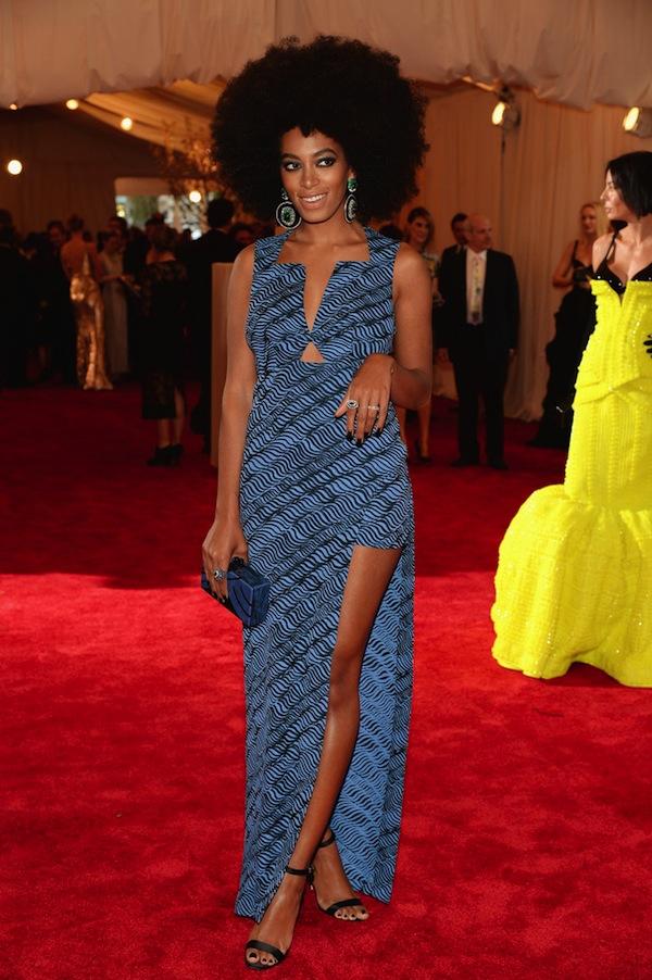 Solange Knowles met gala 2013
