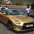 Usain Bolt Gold Nissan GT-R pic