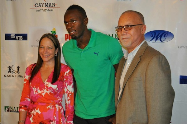Usain Bolt in grand cayman