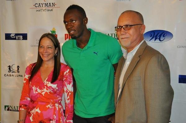 Usain Bolt in grand cayman