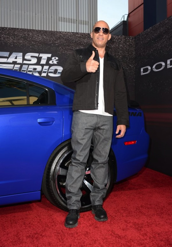 Vin Diesel fast furious premiere