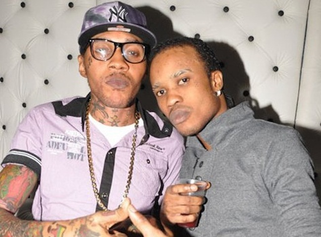 Vybz Kartel and Tommy Lee pic