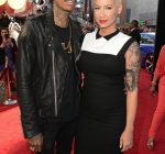 Wiz and Amber fast furious premiere