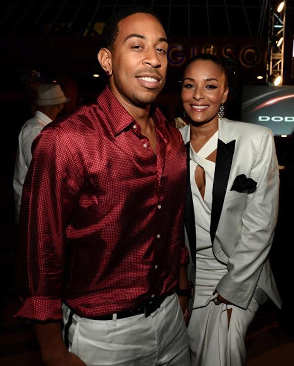 ludacris and girlfriend Eudoxie