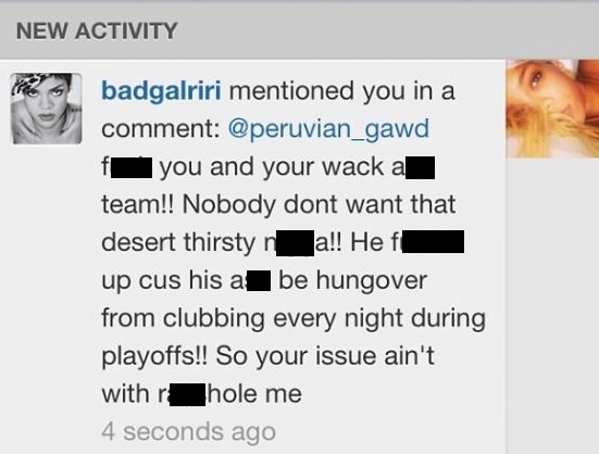 rihanna-jr-smith-instagram comment