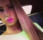 Amber Rose Long Hair 2