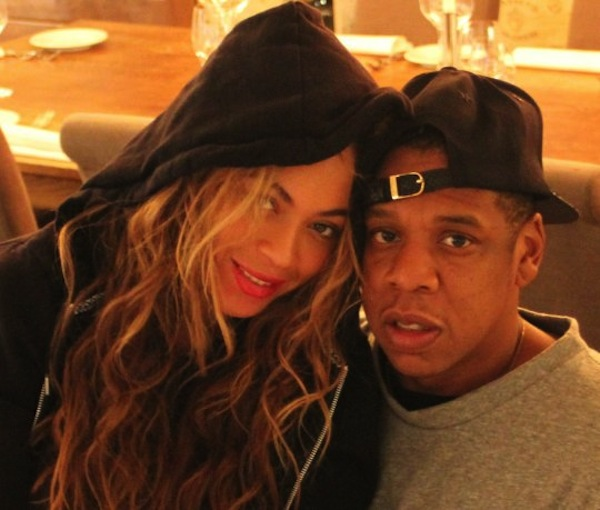 Beyonce and Jay-Z 2014 photo