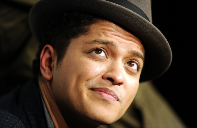 Singer Bruno Mars photo