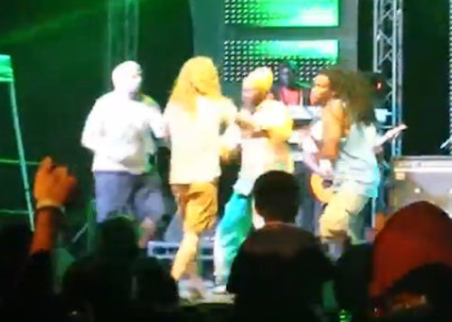 Capleton show gay attack