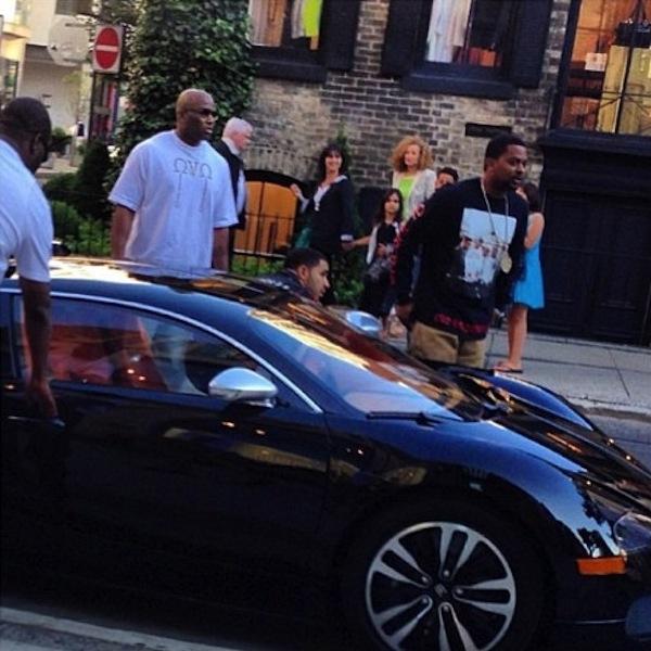 Drake Bugatti pic