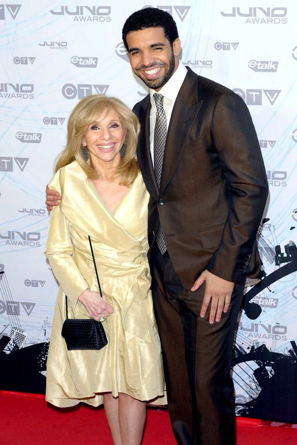 Drake and mom Saudi Graham