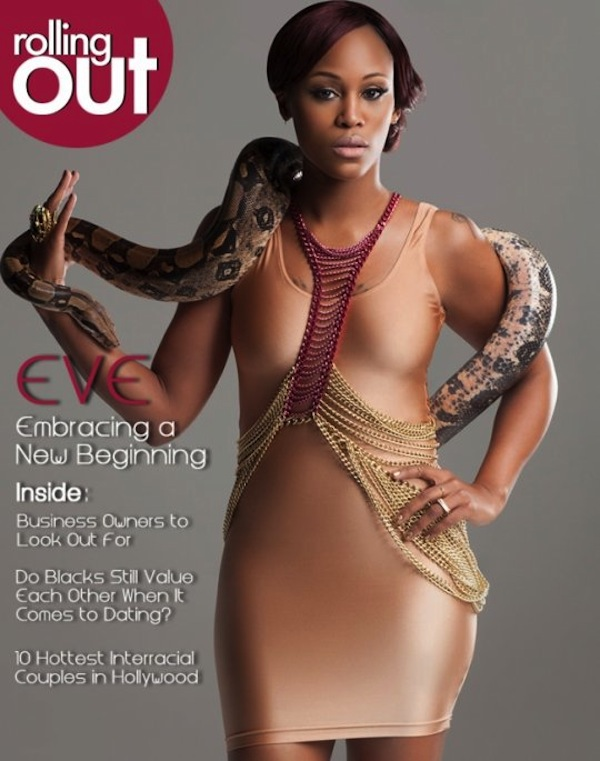 Eve Rolling Out Mag Cover