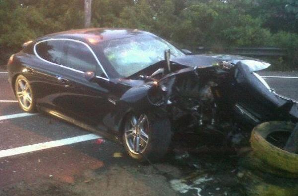 Flippa Mafia car crash