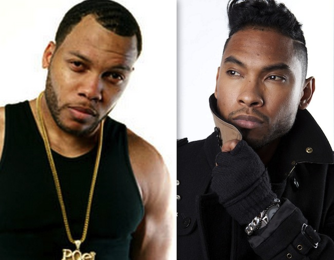 Flo Rida and Miguel