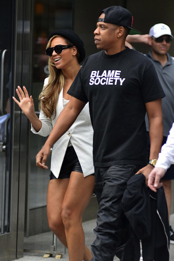 Jay-z and Beyonce date night 2013