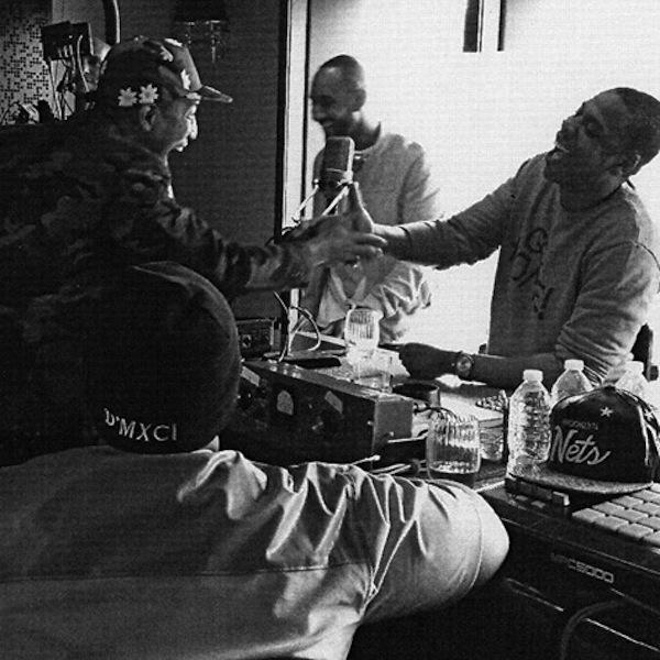 Jay-z in studio