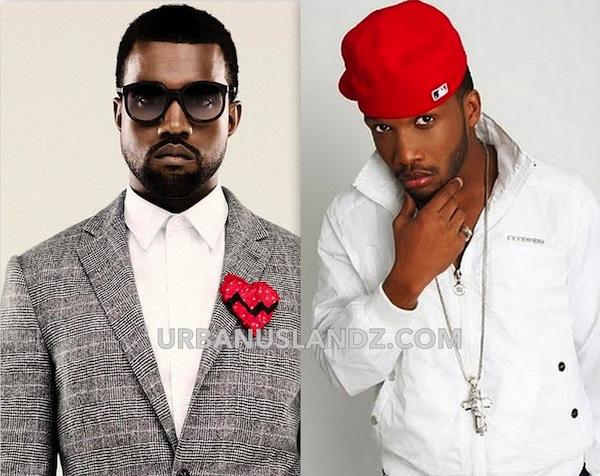 Kanye West and Agent Sasco