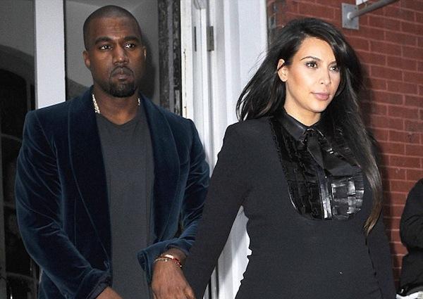 Kim and Kanye preg
