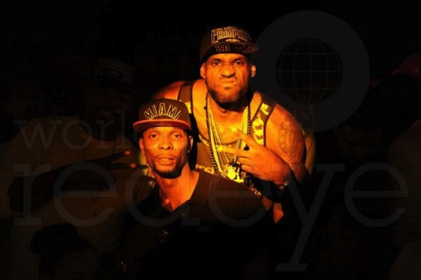 Lebron and Chris Bosh