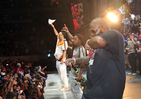 Lil Wayne, Rick Ross, French Montana Shut Down Summer Jam [VIDEO]