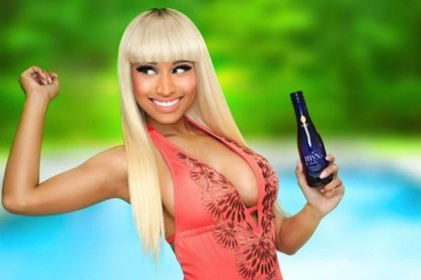 Nicki Minaj Mynx Moscato wine