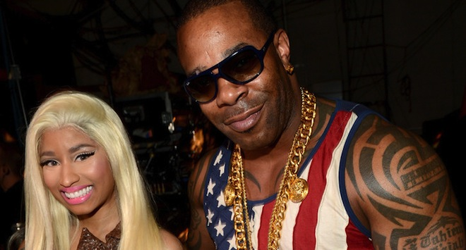Nicki Minaj and Busta Rhymes