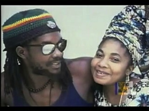 Peter Tosh and wife Marlene Brown