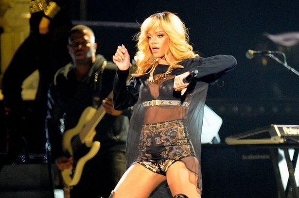 Rihanna UK cocnert