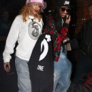 Rihanna and Melissa Forde amsterdam