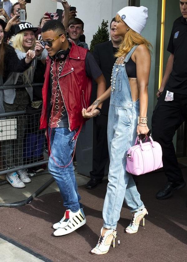 Rihanna and Rajad in London