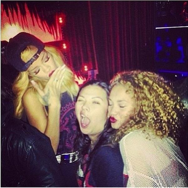 Rihanna and friends 1