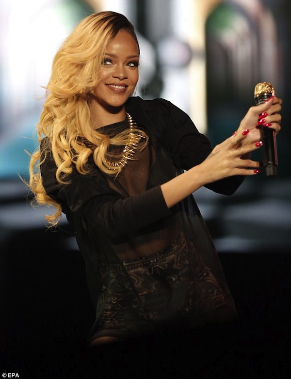 Rihanna concert 2013