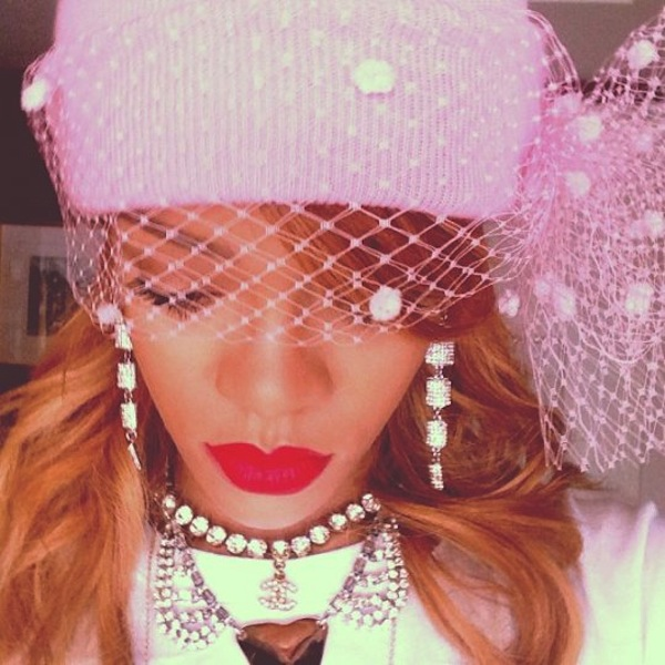 Rihanna high