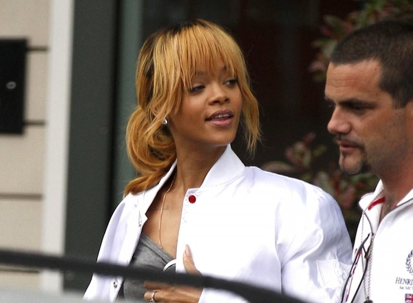 Rihanna in Manchester city 1