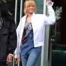 Rihanna in Manchester city