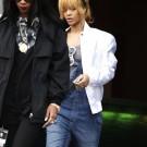 Rihanna in Manchester city 4
