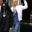Rihanna in Manchester city 5
