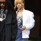 Rihanna in Manchester city 6