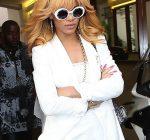 Rihanna in paris 2013