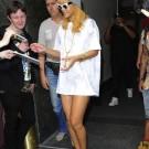 Rihanna legs in belgium
