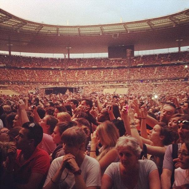 Rihanna paris concert 1