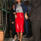 Rihanna red in manchester
