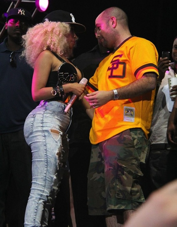 Rosenberg and Nicki Minaj Summer Jam 2013